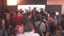 Concentració d'estudiants al rectorat. Foto: L'ACCENT