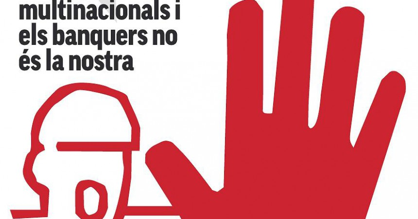 Manifestació contra l'Europa del Capital, la Crisi i la Guerra al País Valencià