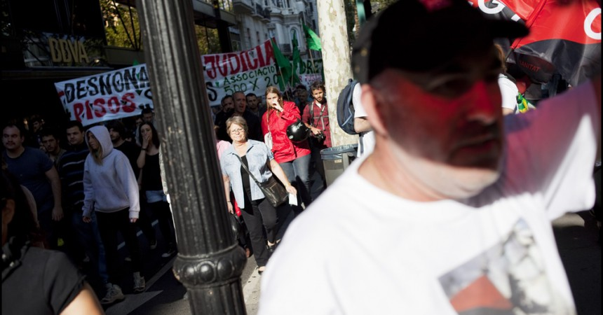 Imatges de la manifestació, incidents i detencions del 1 de maig a Barcelona