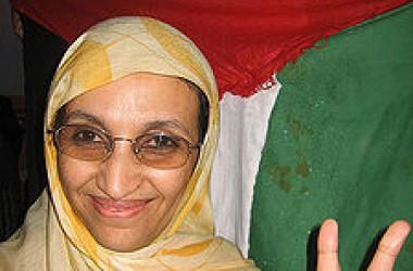 Intimidació del govern marroquí cap a l'activista sahrauí Haidar