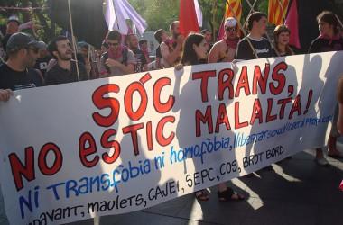 28-J, un crit: la transsexualitat no és cap malaltia