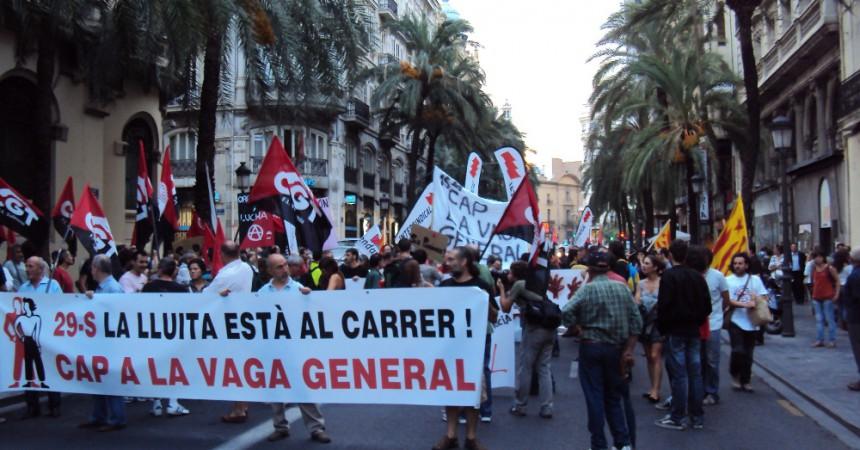 #29S: Mobilitzacions un any després de la vaga general