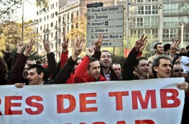 Els treballadors de Parcs i Jardins i els conductors d'autobusos de Barcelona continuen denunciant coacció i repressió sindical