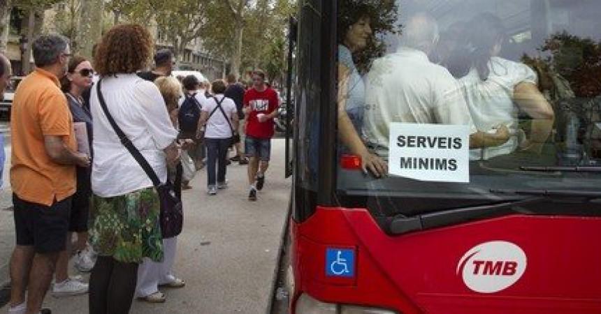 Els treballadors de TMB es tornen a mobilitzar en defensa d'un company
