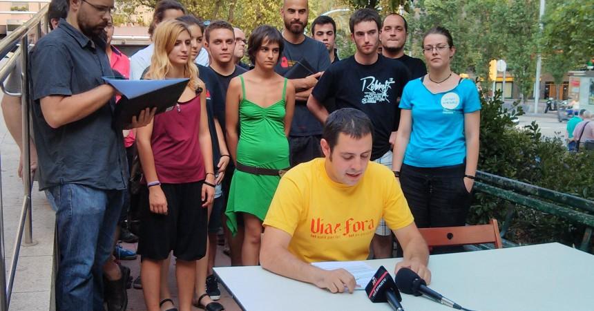 """""""Independència per canviar-ho tot"""" pretén tornar la iniciativa independentista al carrer i plantejar una alternativa social"""