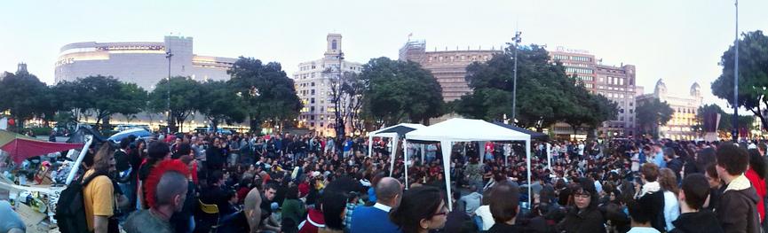 15m barcelona