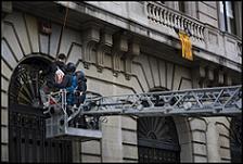Acció contra Bolonya - Autor: Oriol Clavera