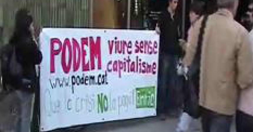 La setmana de boicot als bancs culmina amb una cancel·lació col·lectiva dels comptes