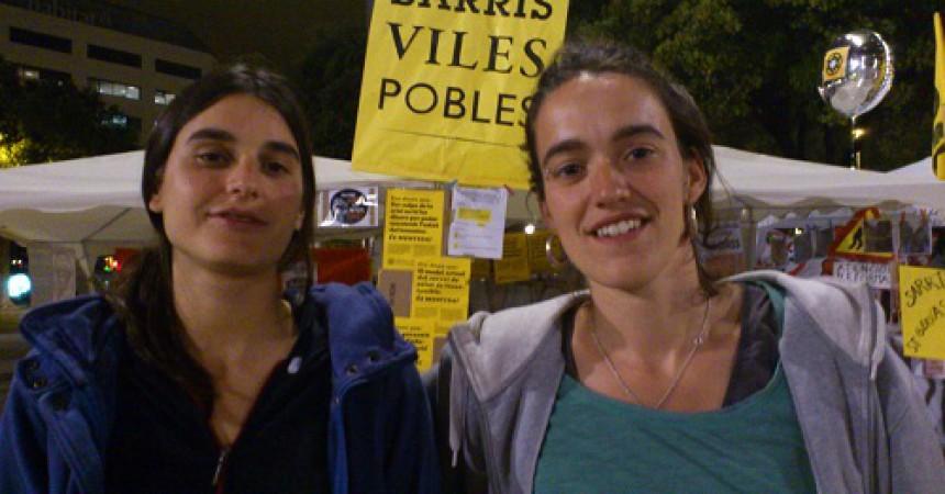 'Enteníem que el conflicte i la lluita estava més enllà de la plaça: als llocs de treball, a l'escola, als barris, a casa…'