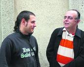 Aitor i Peponio són dos dels portaveus de Gent de Gramenet