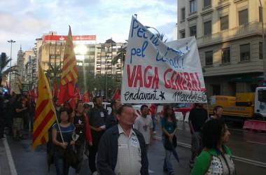Alacant es mobilitza contra les retallades socials