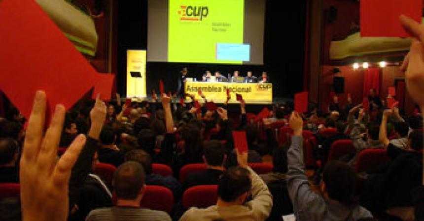 'Qui faci un plantejament d'entrar a la CUP només per estar a les institucions s'equivoca'