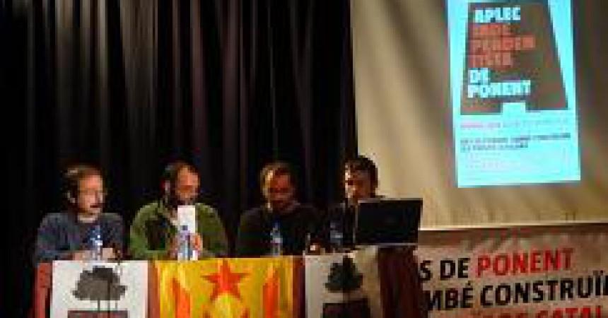 L'Aplec a Bellpuig esdevé un espai de trobada independentista de tot Ponent