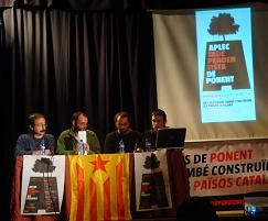 Acte polític a l'Aplec Independentista de Ponent