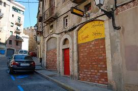 Ateneu l'Espina de Tarragona tapiat