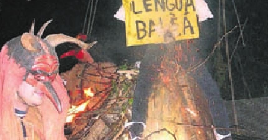 Sa Pobla crida contra la política lingüística del PP