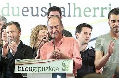 El bon resultat de Bildu remou el mapa institucional basc