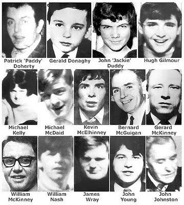 bloody sunday victimes