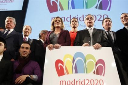 Ana Botella elimina l'anell africà del logotip de la candidatura olímpica madrilenya