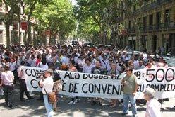 manifestacio autobusos bcn
