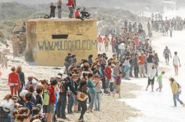 Més de 12.000 persones contra el macrohotel de Sa Ràpita a Mallorca