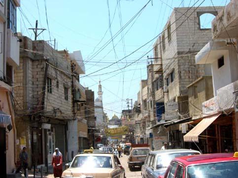Carrer del camp de refugiats d'Ein el-Hilweh