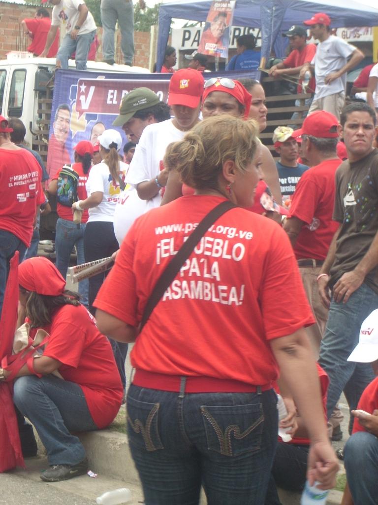 Campanya electoral del PSUV