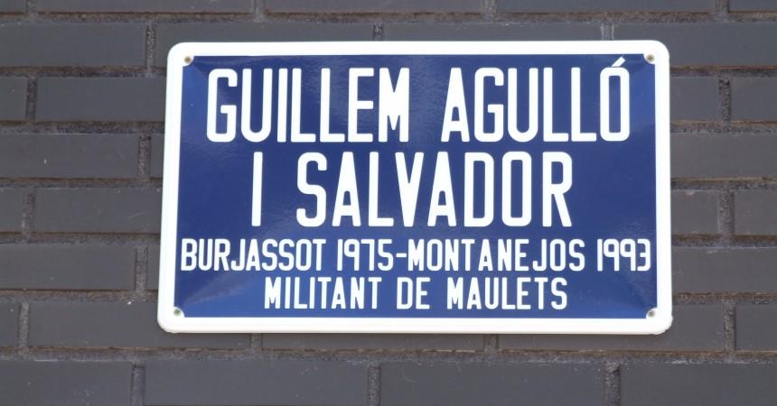 Sallent dedica un carrer a Guillem Agulló