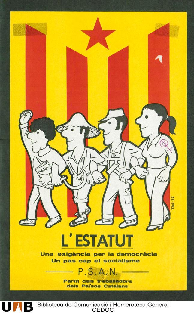 cartell estatut psan