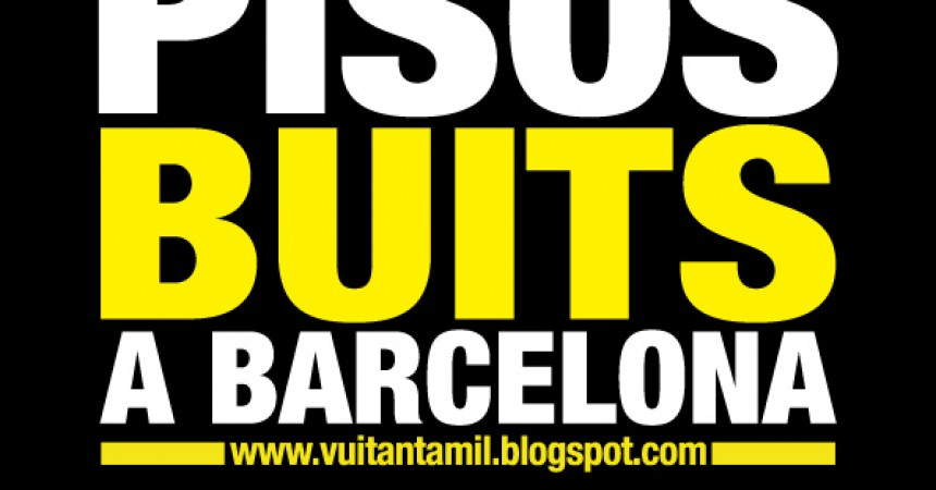 La CUP denuncia que hi ha 80.000 pisos buits a Barcelona
