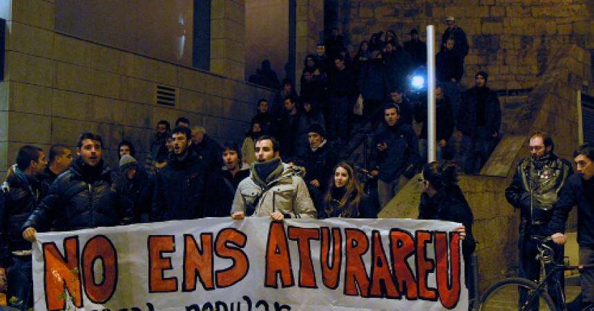 """El Casal de Joves de Lleida pateix un desallotjament """"express"""""""