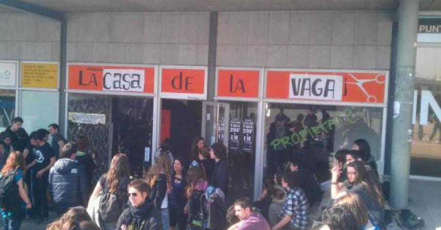 Ocupacions i tancades a les universitats preparen la vaga d'universitats del #29F
