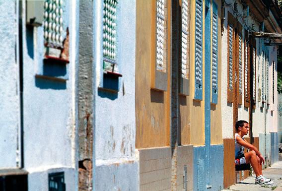 Les Cases Barates, al barri barceloní de Bon Pastor