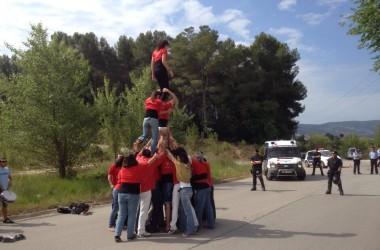 140 Casals i Ateneus, i colles de cultura popular d'arreu dels Països Catalans amb Can Vies i per la llibertat del jove empresonat