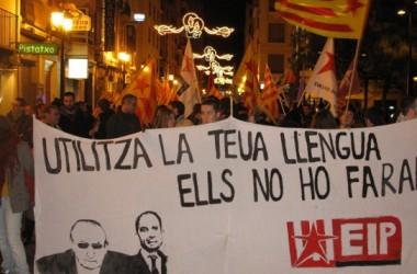 300 manifestants en commemoració de les Normes de Castelló