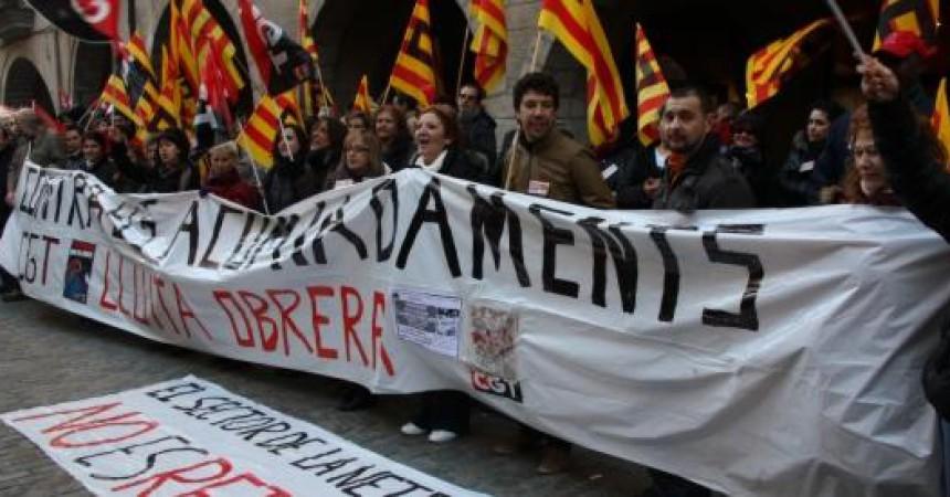 Campanya contra Eulen SA per acomiadar delegats de CGT