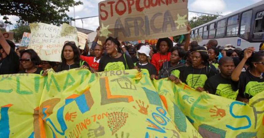Nova farsa a la cimera de Durban sobre el canvi climàtic