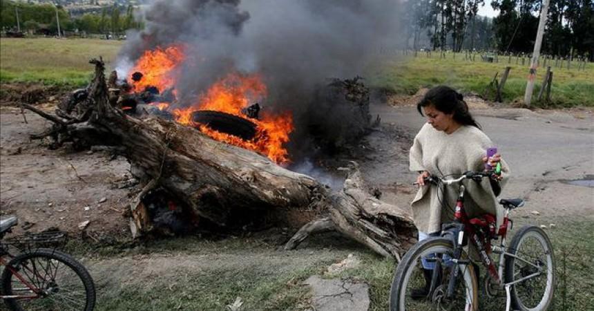 Colòmbia es mobilitza contra els tractats de lliure comerç a partir d'una vaga nacional agrària