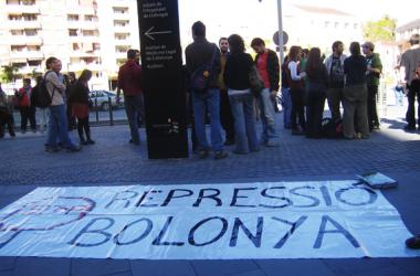 S'ajorna el judici 9 a estudiants contraris al Pla Bolonya