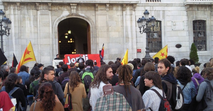 Un independentista tarragoní condemnat a 1 any de presó