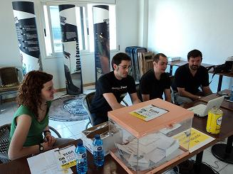 Col·legi electoral de la consulta a Sabadell