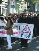 Mobilització a Perpinyà contra les expulsions