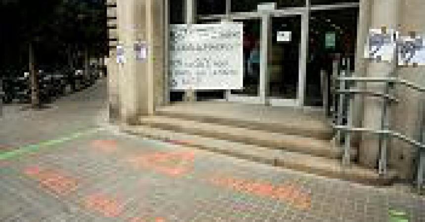 Ocupació de seus bancàries en la jornada de lluita per denunciar els culpables de la crisi