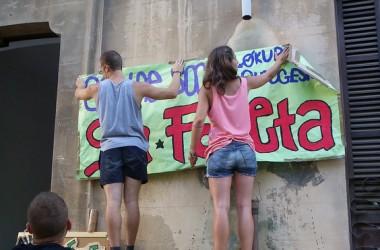 El CSOA Sa Foneta reactiva la lluita per l'okupació a Palma