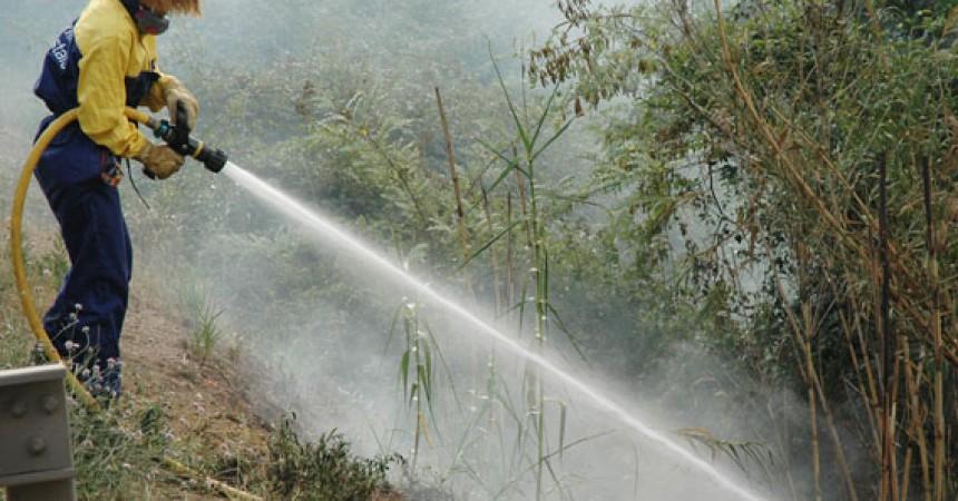 """""""Les retallades i la manca d'inversió pública han augmentat els problemes per controlar incendis com el de Cortes i Andilla"""""""