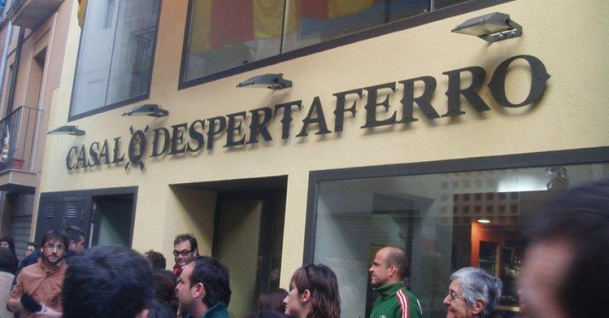 S'inaugura a Reus la nova seu del Casal Despertaferro