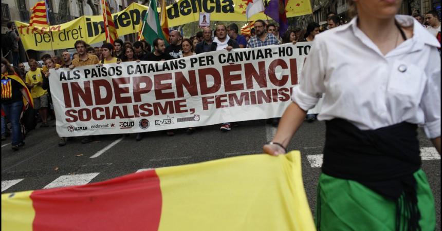L'Esquerra Independentista mobilitza desenes de milers de persones 'per canviar-ho tot'
