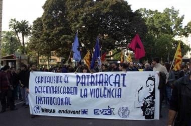 Mobilitzacions arreu dels Països Catalans pel dia  contra la violència de gènere