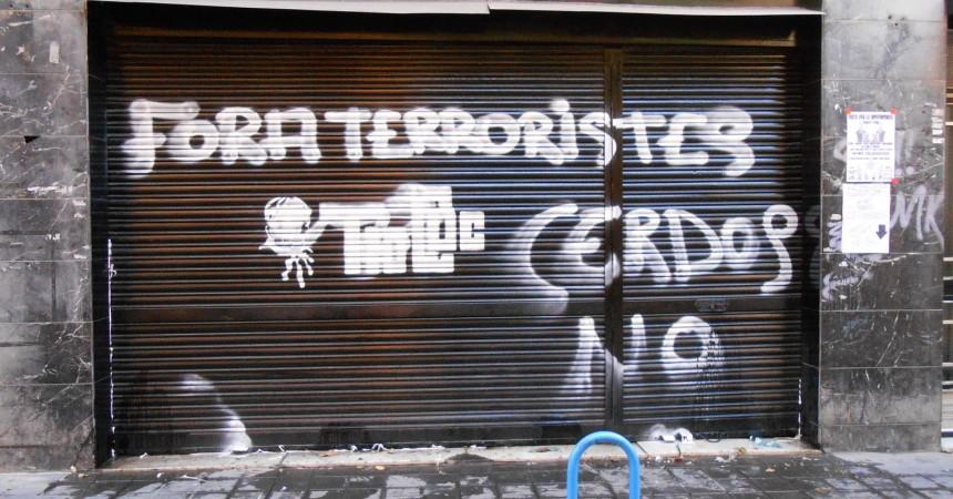 Denuncien atacs feixistes a Alacant