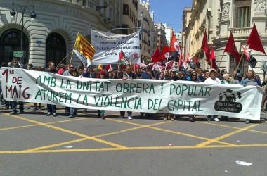 L'1 de maig més massiu i anticapitalista dels darrers anys